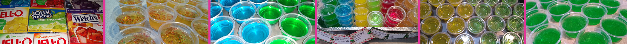 Total Party Guild's Jell-o Shots For D&D